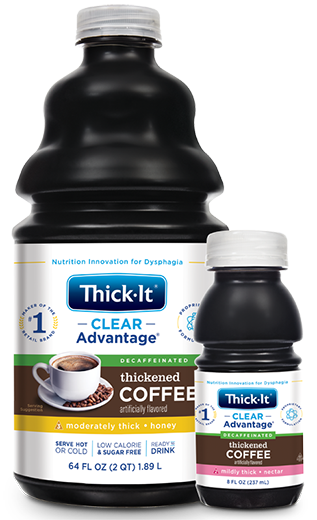 Photo of Clear Advantage® Decaffeinated Thickened Coffee, Artificially Flavored Packaging