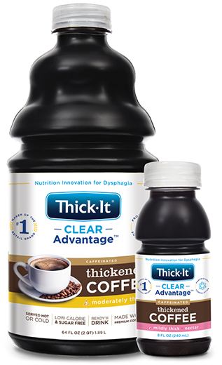 Photo of Clear Advantage® Thickened Coffee Packaging