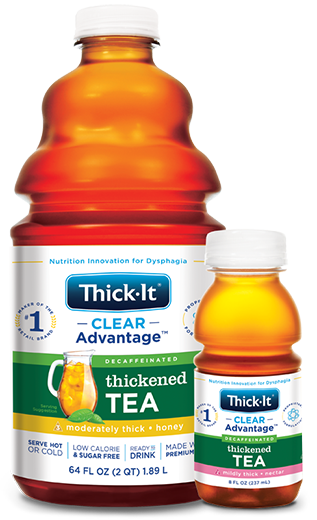 Photo of Clear Advantage® Thickened Tea Packaging