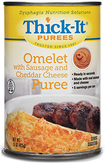 Photo of Omelet with Sausage and Cheddar Cheese Purée Packaging